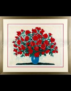 Large bouquet of roses- Cottavoz 1992