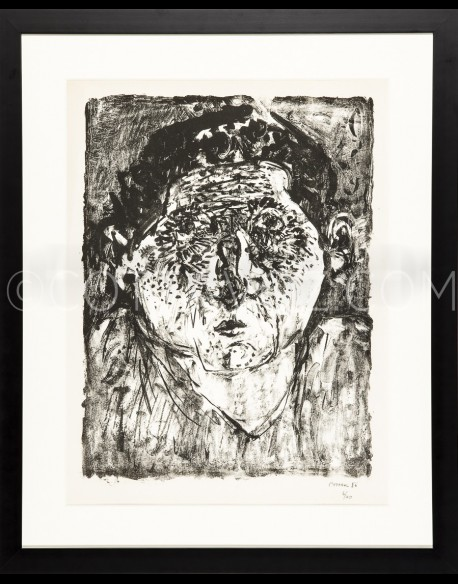 self portrait - Cottavoz 1956