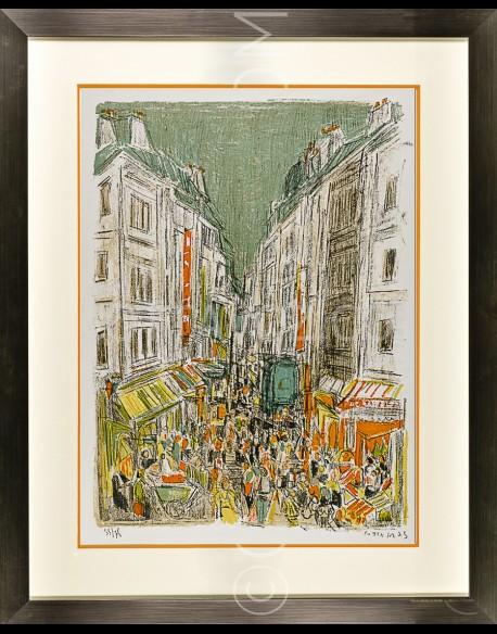Paris, rue Montorgeuil - Cottavoz 1973