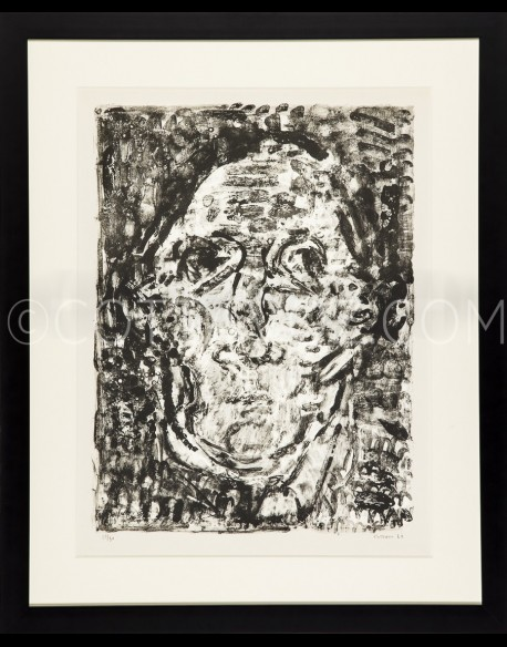 Self-portrait - Cottavoz 1962