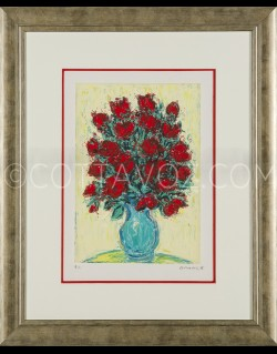bouquet of red roses - Cottavoz 1998