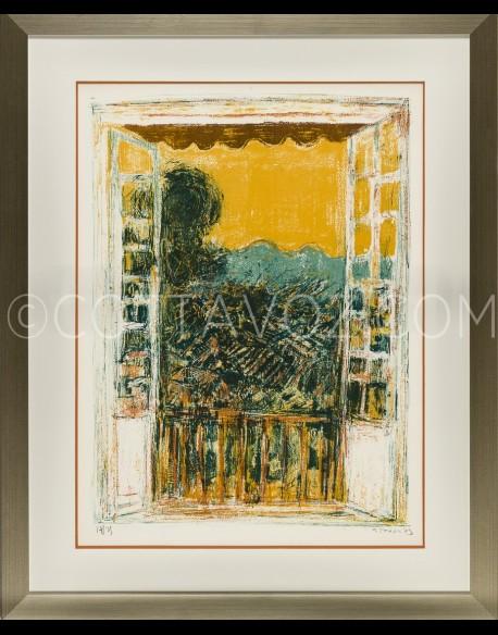 La fenêtre de l'atelier - Cottavoz 1973