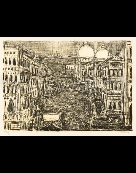 Le grand canal de Venise - Cottavoz 1971