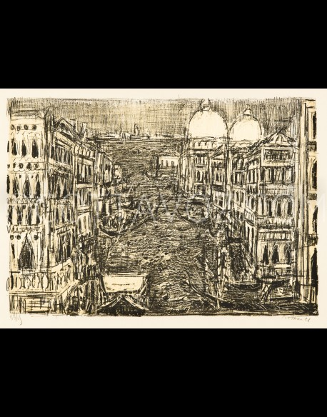 The great Venice canal - Cottavoz 1971