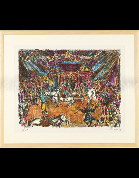 Le cirque couleur rehaussé - Cottavoz 1975 - 2000