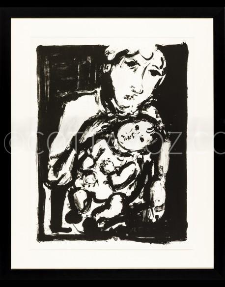 Maternité - Cottavoz 1968