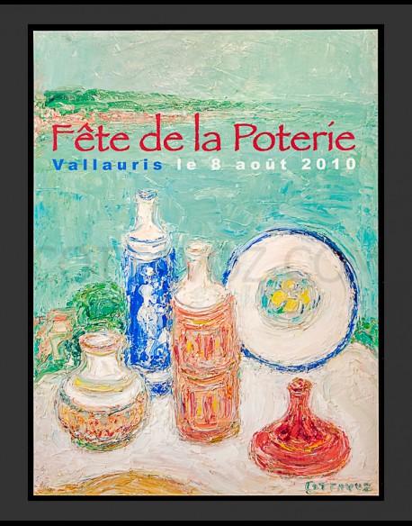 Affiche Fête de la poterie 2010