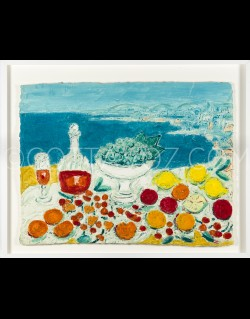 Still life in front of the sea - Cottavoz 1991