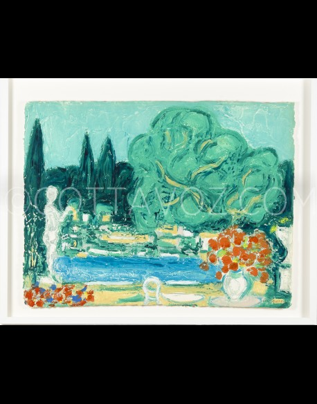 Gardens of Saint-Paul of Vence - Cottavoz 1992
