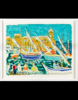 Port of Collioure - Cottavoz 1990