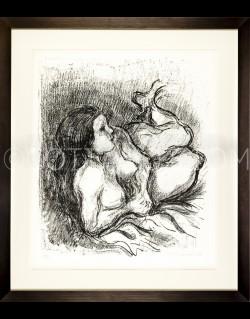 "Reclining Nude ""Barbara"" - Cottavoz 1974"