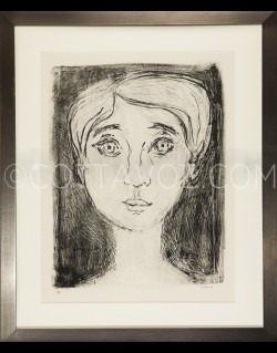 Muriel portrait - Cottavoz 1966
