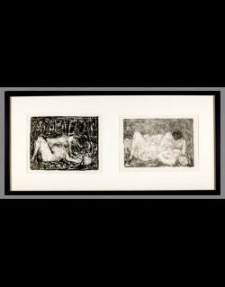Couple Diptychs - Cottavoz1963