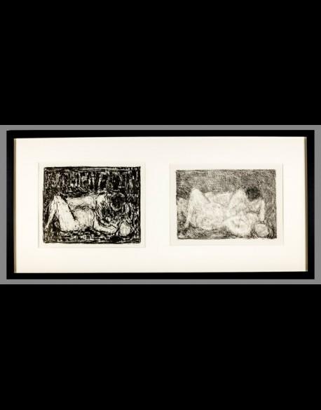 Couples Diptyque - Cottavoz 1963