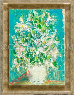 Green bouquet - Cottavoz