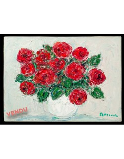 Bouquet of red roses- Cottavoz