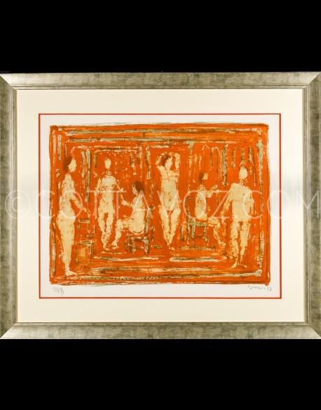 Le sauna rouge - Cottavoz 1973
