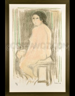 Great nude - Cottavoz 1974